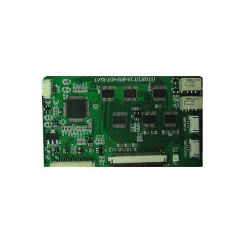 Sub Board for Video Interface for Porsche PCM 3.1