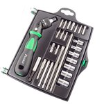 Reversible Ratchet Screwdriver Pro'sKit SD-2314M W/Bits