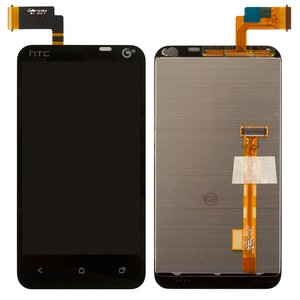 LCD for HTC T328t Desire VT Cell Phone, (black, with touchscreen)