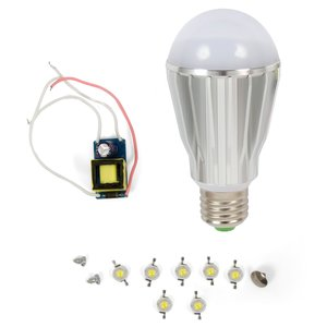 LED Light Bulb DIY Kit SQ-Q17 E27 7 W – warm white