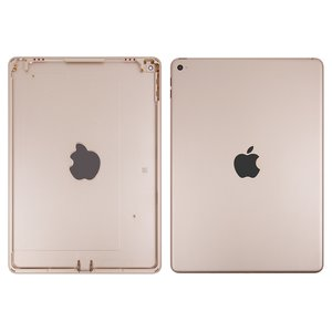 Back Cover for Apple iPad Air 2 Tablet, (golden, (version Wi-Fi))