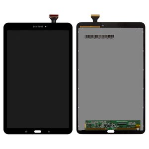 LCD for Samsung T560 Galaxy Tab E 9.6, T561 Galaxy Tab E Tablets, (black, with touchscreen)