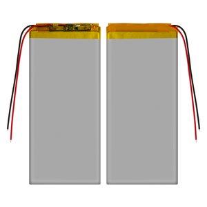 Battery, (125 mm, 54 mm, 2.2 mm, Li-ion, 3.7 V, 1500 mAh)