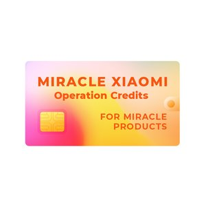 Miracle Xiaomi Credits (for Miracle Dongle Owners ONLY)
