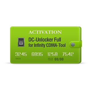 Activación DC-Unlocker Full para Infinity CDMA-Tool