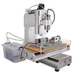 Máquina fresadora CNC de sobremesa de 5 ejes ChinaCNCzone HY-6040 (2200 W)