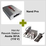 Nand Pro + Estación de soldadura de aire caliente Accta 301A (110 V)