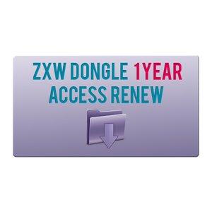 Обновление годового доступа ZXW Dongle