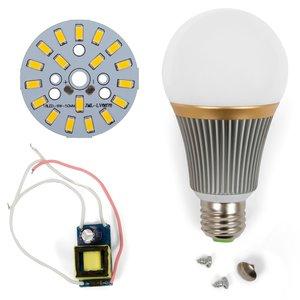 Комплект для збирання світлодіодної лампи SQ-Q23 9 Вт (теплий білий, E27)