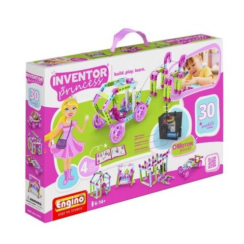 STEM-конструктор Engino Inventor Princess 30 в 1 з електродвигуном