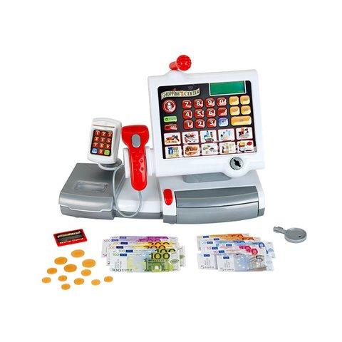 Дитячий касовий апарат зі сканером, картрідером та сенсорною панеллю Klein