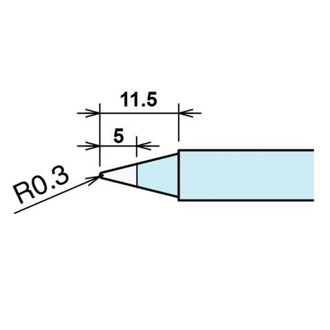 Soldering Iron Tip Goot RX 85HSRT B