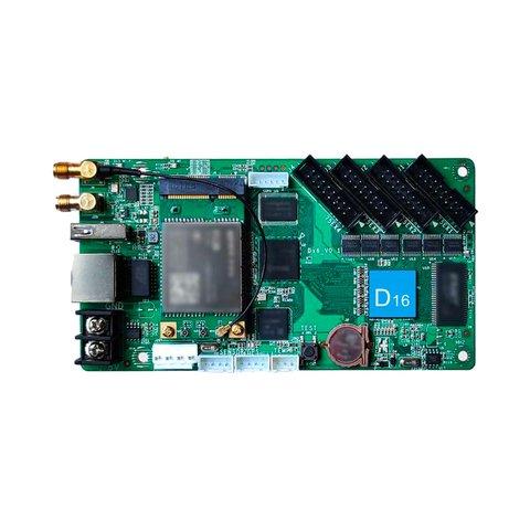 Huidu HD D16 LED Display Module Control Card 640*64, 320*128, 4 x HUB75B, with Wi Fi Module